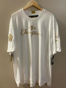 Nike NBA Toronto Raptors Team Issued Championship Shirt CQ4287-100 2XL-Tall RARE