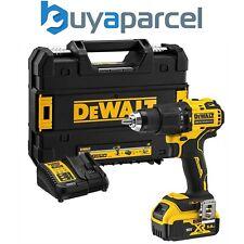 Dewalt DCD709P1T 18v XR Brushless Compact Combi Hammer Drill Tstak - 1 x 5.0ah