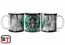 Starbucks Coffee Distressed Look Mug And Coaster Gift Set