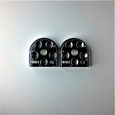 (2) Dillon Precision XL650 Style Billet Aluminum Toolhead 5 Station tool head