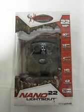 Wildgame Innovations Nano 22 Lightsout 22MP Black Flash Trail Camera P22B20