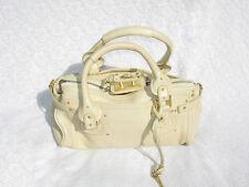 $1500 AUTHENTIC Chloe RUNWAY Paddington Padlock Logo Dress Handbag Bag SOLD OUT