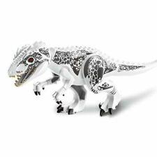 "Indominus Rex XXL Jurassic Large Dinosaur 7x11"" Figure Blocks Fit Lego Toys"