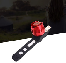 New Usb Red Led Bike Bicycle Cycling Rear / Tail Light Lamp - Red