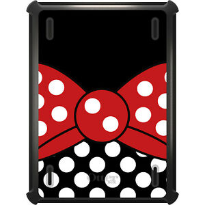 OtterBox Defender for iPad Pro / Air / Mini - White Polka Dot Red Bow Minnie