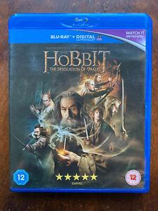 The Hobbit Blu-ray 2 Deslation of Smaug 2013 Movie Tolkein Epic