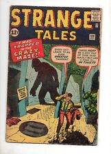 Strange Tales #100 KIRBY/DITKO COVER & 3 KIRBY INTERIOR ART STORIES 1962 VG+ 4.5