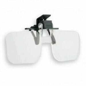 Carson Clip and Flip 1.5x Power Magnifying Lenses +2.25 Diopters OD-10