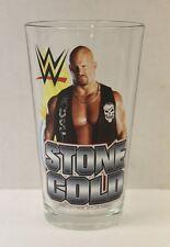 Stone Cold Steve Austin WWE 16 oz. Pint Glass 'TOON TUMBLER NEW!!