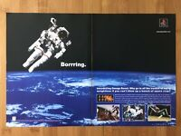 Omega Boost PS1 Playstation 1 1999 Vintage Print Ad/Poster Art Official Rare