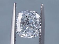 1.51 CARATS CUSHION CUT CERTIFIED LAB GROWN DIAMOND D SI1