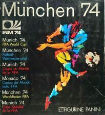 PANINI Munchen 74 (1974) ORIGINAL World Cup Sticker ALBUM *100% COMPLETE***