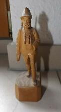 geschnitzte Figur aus dem Erzgebirge Anton Günther Jäger