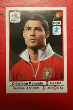 Panini EURO 2012 N. 277 PORTUGAL RONALDO NEW With BLACK BACK TOPMINT!!