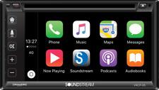 "Soundstream Vrcp65 6.2"" Cd Dvd Bluetooth iPhone Apple Car Play Sirius Xm Stereo"