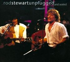 Unplugged...and Seated [CD/DVD] by Rod Stewart (CD, Mar-2009, 2 Discs)