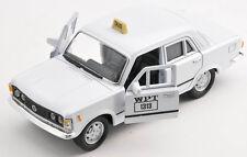 BLITZ VERSAND Fiat 125 p TAXI WPT weiss / white Welly Modell Auto 1:34 NEU & OVP