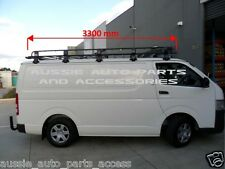 Tradesman Style Open Ends Steel Roof Rack 3300x1464mm for TOYOTA HIACE 2005 On