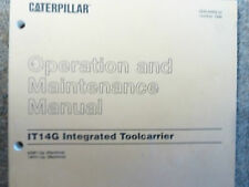 Caterpillar CAT IT14G Toolcarrier Operation and Maintenance Manual