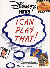 I Can Play That Disney Hits Piano Guitar Music Book PVG