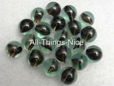 Vintage Collectable BLACK CATS EYE 16mm Glass Toy Marbles JOBLOT 20