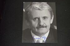 MIKULAS DZURINDA signed autograph In Person 8x10  PRIME MINISTER SLOVAKIA