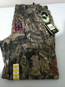 NWT Mens Mossy Oak Break Up Mountain Country 6 Pocket Cargo Camo Hunting Pants L