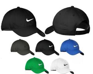 NIKE Heritage 86 Dri-FIT SWOOSH Front Logo Adjustable Fit Cap Hat New!