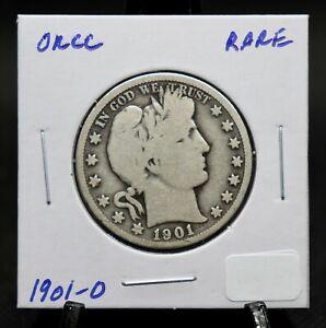 1901 O Barber Half Dollar Rare Key Date!