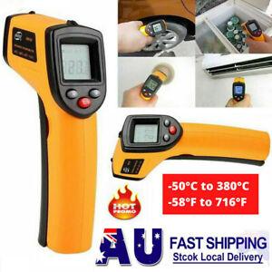 Digital Infrared Thermometer Handheld Temperature Gun Un-Contact IR Laser Point*