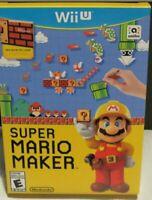 Super Mario Maker Bundle with Idea Book Nintendo Wii U WiiU Brand New