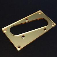 Guitar Parts CONVERSION PICKUP RING - Humbucker Telecaster Bridge GOLD MIRROR