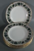 ROYAL CROWN DERBY 'Caliph' Dinner Plates Set of 6