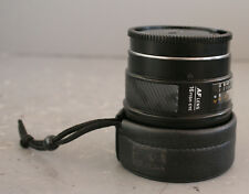 Minolta AF Lens 16mm Fish-Eye f/2.8 with Rear Cap & Front Cover (20952)