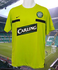 Nike Celtic ENTRAÎNEMENT FOOTBALL T-SHIRT AVANT MATCH CARLING vert citron M
