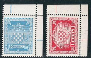 CROATIA,,EXILE,1934 ,set ,BERGAMO ITALY MNH a