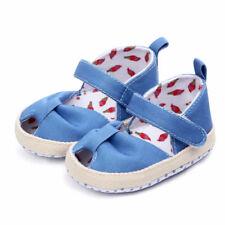 Baby Girls Summer Sandals First Walker Shoes Soft Crib Sole Newborn Prewalkers