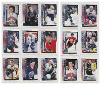 1996-97 Be A Player Link 2 History 15 Card Insert Lot Lalime Selanne Bure Kariya