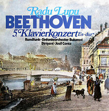 Radu Lupu Beethoven Piano Concerto no. 5 Josif Conta NEAR MINT Pandora P104
