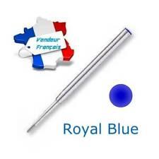 Recharge Bille pour stylos Mont Blanc - Navy Blue - Envoi de France immédiat
