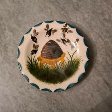 Vintage Small Wemyss Pottery Dish, Bees & Bee Hive
