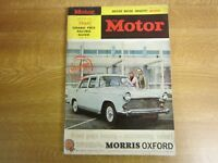 May 22nd 1963, THE MOTOR, Morris Oxford VI, Bond Equipe GT, Alec Issigonis.