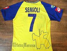 2003 2004 SEMIOLI CHIEVO VERONA CALCIO CAMICIA ADULTI MEDIUM JERSEY MAGLIA