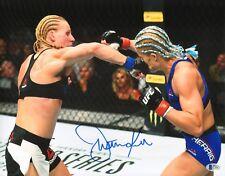 Justine Kish Signed 11x14 Photo BAS Beckett COA UFC Fight Night 112 Autograph 1