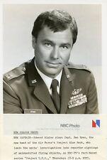 EDWARD WINTER PORTRAIT PROJECT UFO ORIGINAL 1978 NBC TV PHOTO