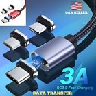 Magnetic Phone Charger Cable. 3 Amp Fast Charge. DATA TRANSFER. iOS or Android