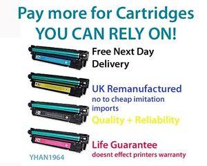 Toner for Hp 507a 507x Color Laserjet Printer Cartridge Enterprise 500 ce400a