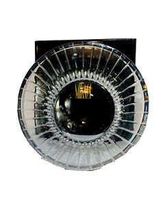 """Thick Heavy NEW Mikasa Park Ave Sparkling Crystal Bowl-9"""" X 3 3/4""""-Flared Rim"""
