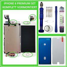 Für iPhone 6 Display LCD mit RETINA VORMONTIERT Glas Komplett Front WEISS NEU