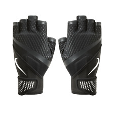 Nike Destroyer Weight Training Lifting Gloves UK Medium / XLarge Black / White